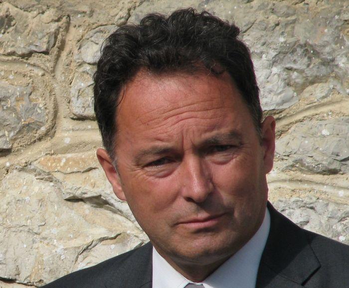 Anton Zakrajšek, župan občine Velike Lašče. (Foto: M. G.)