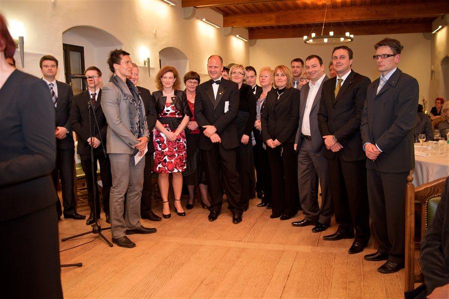 10. dobrodelni ples Lions kluba Ribnica