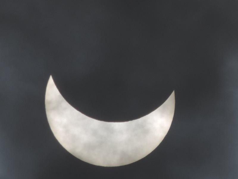 Delni sončev mrk, Ribnica 20.3.2015, ob 10.41