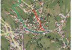 Zapora občinske ceste v Loškem Potoku