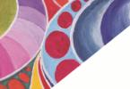Vabilo na otvoritev slikarske razstave Bernarde Arko