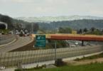 Gradnja uvoza in izvoza Škofljica na dolenjski avtocesti (Foto: Tamino Petelinšek/STA)