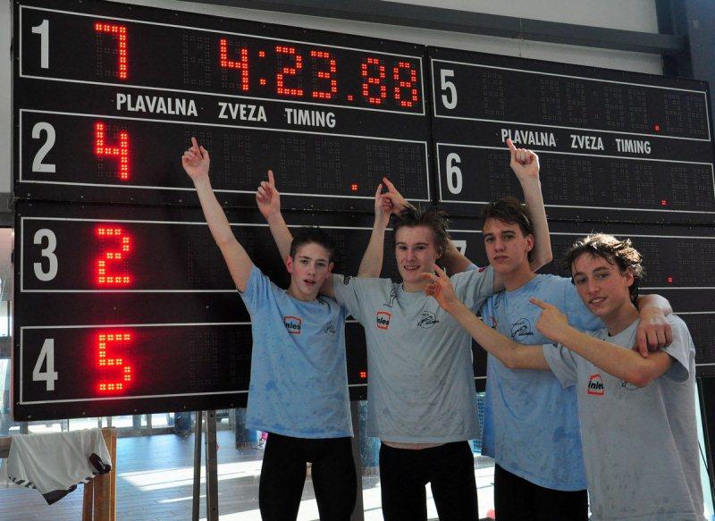 Ekipa dečkov PK Ribnica postavili 2 državna rekorda